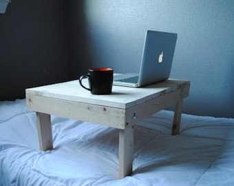 Wooden Foldable Bed Laptop Desk 25x18