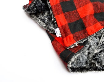 The Perfect Buffalo Plaid Blanket