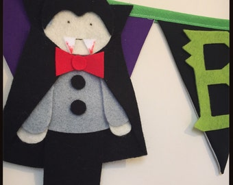 Halloween bunting decoration