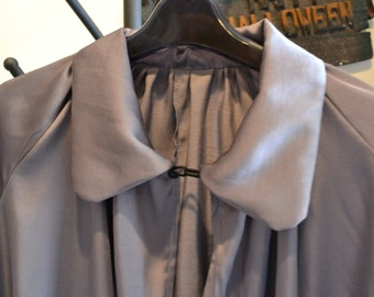 L/XL Gray Witches Cape, Gray Witches Cape, Witches Costume, Halloween Costume, Wicked Witch,