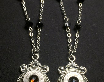 DEATH - Winchester Beaded Bullet Casing Necklace