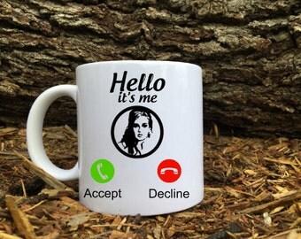 Adele - Hello it's me Coffee Mug