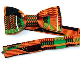 Kente cloth Bow