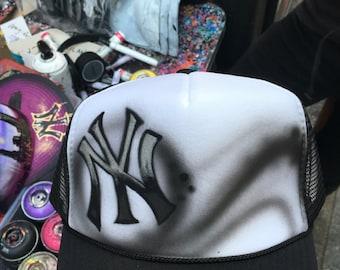 Custom new york ny yankees hat snapback