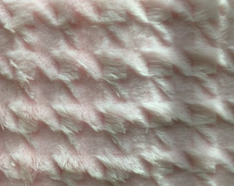 Pink Houndstooth Cuddle from Shannon Fabrics