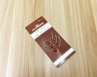 Leather use Hand sewing curved needles 3 size set