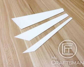 Elasticity Plastic Glue Scraper / glue stick
