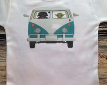 Working Stuff out in a VW Van Nerd Funny Baby Clothes Cutest  Childrens Tee by Retrostate -Kids T-Shirt Boys Girls