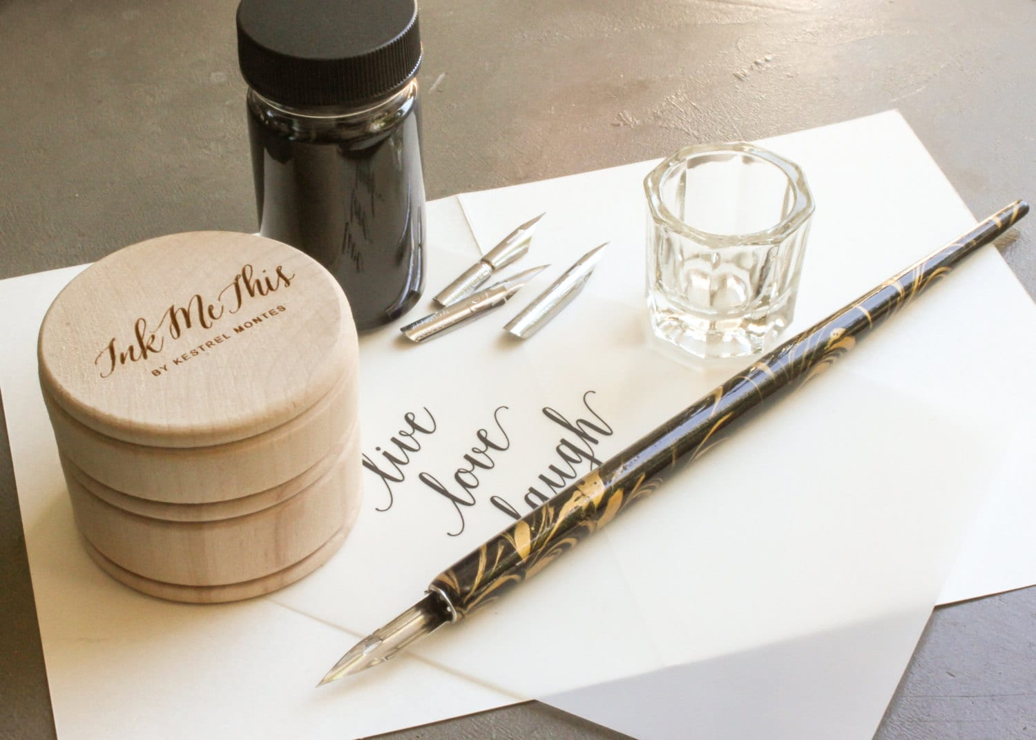 Calligraphy Starter Set By Kestrel Montes Pointed Pen By