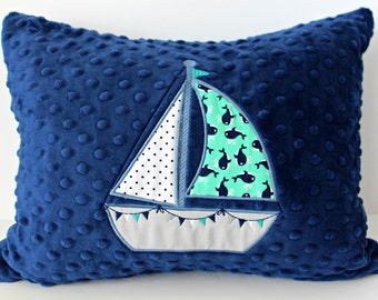 Nautical Pillow Covers~Nautical Decor~ Nautical Nursery Pillows~Throw Pillows~Pillow Covers~Nursery Bedding~Navy~Blue~Whale~Baby Shower Gift
