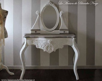 Dressing table shabby chic, shabby chic dressing table