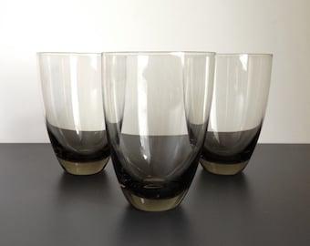 Three Holmegaard Copenhagen Highball Glasses by Per Lutken