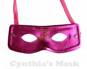 Fuschia Venetian Adult Super Hero Bandit Zorro Eye Mask Masquerade Ball Party Prom BZ201B  7M11