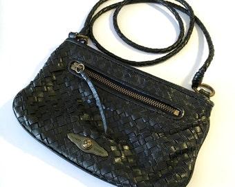 Purses for Women – Black – Leather Purse –Vintage Elliott Lucca Bag