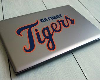 Detroit Tigers baseball decal
