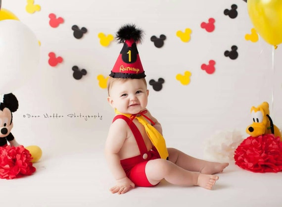 Mickey Mouse Smash Cake: Mickey Mouse Cake Smash Outfit Mickey By ClaudiaMariesbabybou