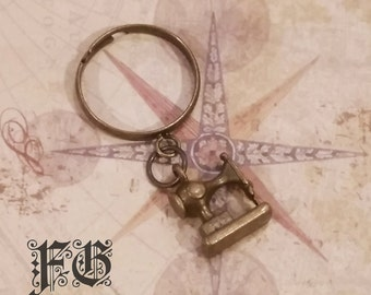 Sewing Time Dangling Charm Ring