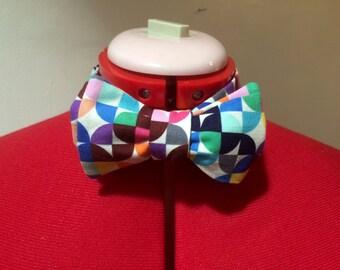 Bow Tie COLOUR GRID PRINT