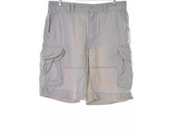 Polo Ralph Lauren Mens Cargo Shorts W35 Beige Cotton