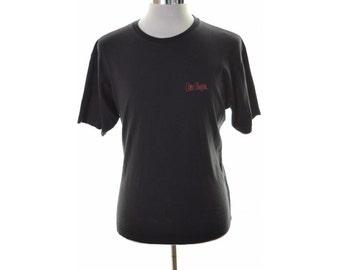 Lee Cooper Mens T-Shirt Large Black Cotton