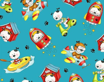 Spot's Perfect Day - Puppy Dog Fabric