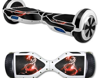 Skin Decal Wrap for Self Balancing Scooter Hoverboard unicycle Tribal Dragon