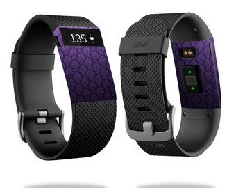 Skin Decal Wrap for Fitbit Blaze, Charge, Charge HR, Surge Watch cover sticker Antique Purple