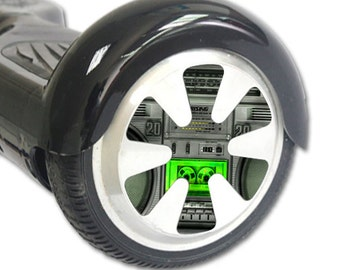Skin Decal Wrap for Hoverboard Balance Board Scooter Wheels Boombox