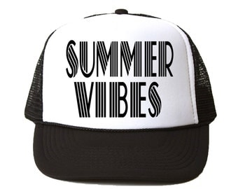 Summer Vibes Trucker Hat - Youth and Adult