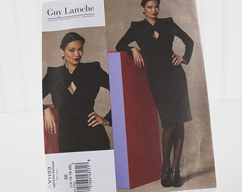 Vogue Designer Dress Pattern, Guy Laroche, UNCUT Sewing Pattern, V1133, Size 14-20