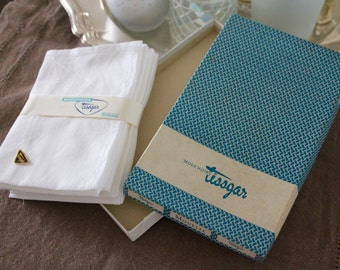 authentic handkerchiefs tissgar vintage made in france