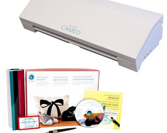 Silhouette CAMEO 3 Cutting Machine with Heat Transfer Starter Kit - 339.98 Value NOW SHIPPING!!!