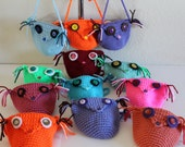 Girls Owl Purse