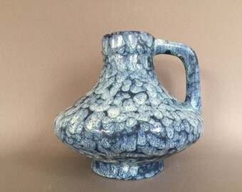 Stein Keramik  47 / 15 ( Jopeko )   Ufo shape Modernist Space Age 1960s / 1970s vase,  designer : Heinz Martin   West Germany Pottery.