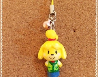 Kawaii Isabelle from Animal Crossing inspired strap