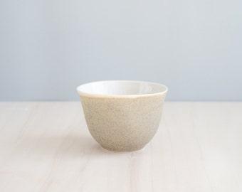 porcelain cup   moss