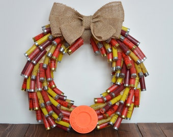 Shotgun Shell Wreath - Multicolored