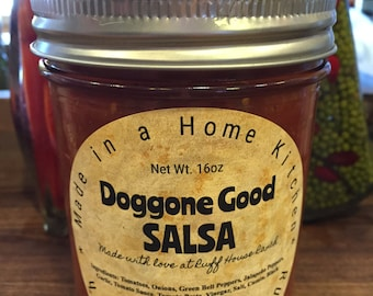 """Tomato Salsa """"Doggone Good Salsa"""""""