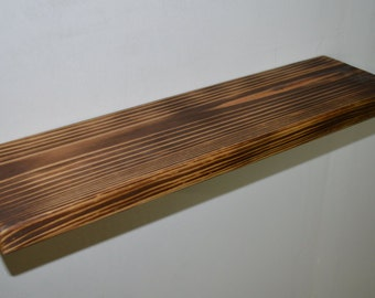 "20"" Floating Shelf - Wooden shelf"