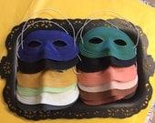 60s Eye Mask, Halloween Costume, Vintage Halloween, Vintage Accessories, Vintage Mask, 1960s Halloween,  Eye Mask, Halloween, Costume,