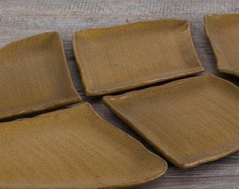 Ceramic platter -Plate -  Ceramics - Decorative tray - Ceramic plate - Kitchen decor - Ceramic plate set - Large serving dish - Serving dish