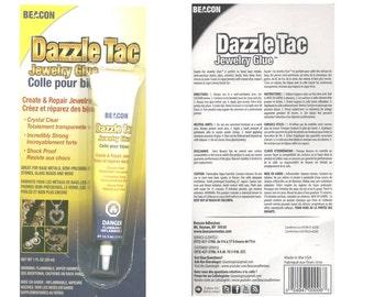 Dazzle Tac glue 1fl. oz.  Price is for 1 glue