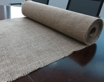 Burlap Roll 9.5 x 5 yards Table runner