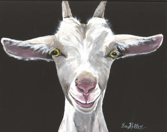 "Goat Art Digital Print,  Instant Digital Download Goat Art ""Patsy"""