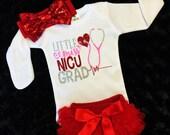 NICU Graduate, preemie bodysuit, Girl NICU Graduate, Girls NICU Graduate, hospital bodysuit,Preemie baby,nicu take home outfit, miracle baby
