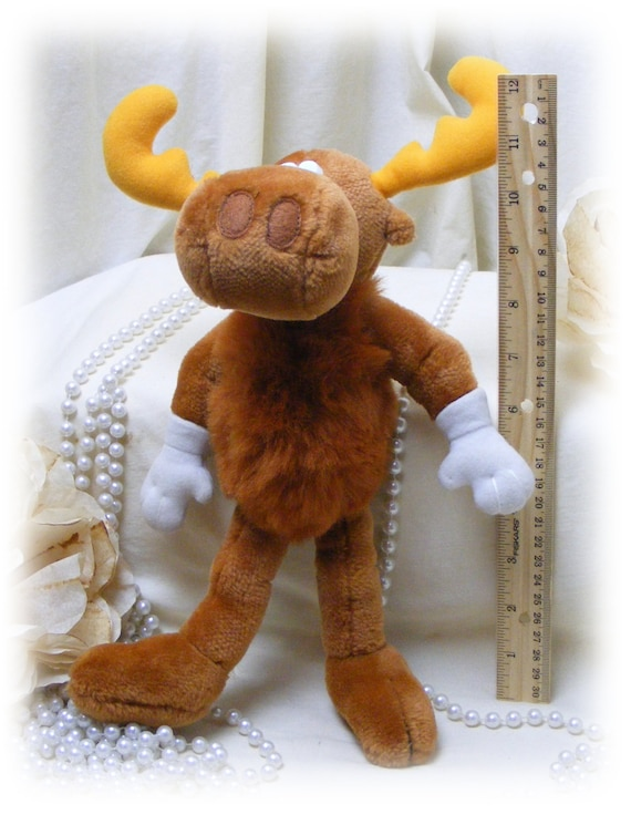 BULLWINKLE . . . Vintage Equity Toy . . 50% OFF . . new price below