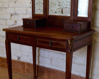 SUPERB - French 1920s Vanity Table / Coiffeuse