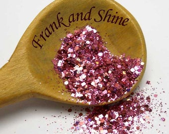 Pink Bliss Solvent Resistant Nail Glitter Mix