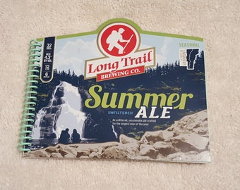 """Long Trail Summer Ale"""" Notebook, Journal, Sketchpad with 80 sheets lined paper."""
