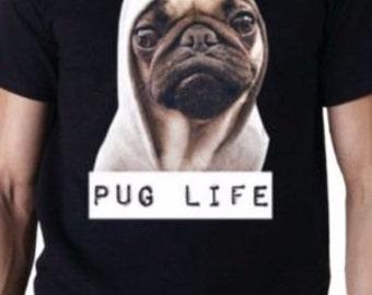 thug life Pug Life Tupac Funny T Shirt